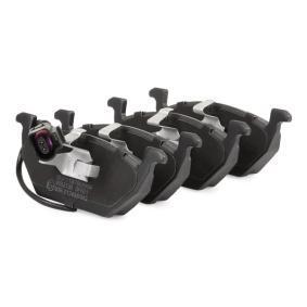 402B0033 Bremsbelagsatz, Scheibenbremse RIDEX - Markenprodukte billig