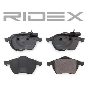 402B0034Kit de plaquettes de frein, frein à disque RIDEX - Enorme sélection — fortement réduit