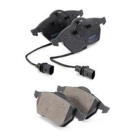 402B0034 Kit de plaquettes de frein, frein à disque RIDEX - Produits de marque bon marché