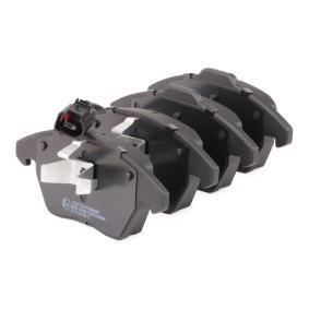 402B0009 Bromsbeläggsats RIDEX - Billiga märkesvaror