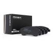 Kit de plaquettes de frein 402B0049 à un rapport qualité-prix RIDEX exceptionnel