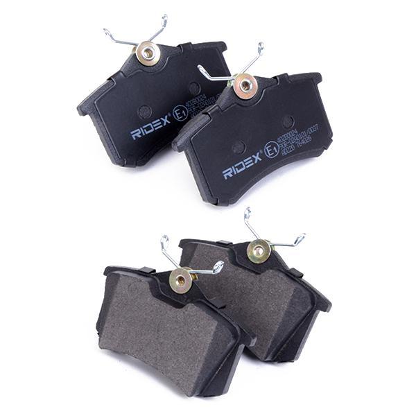 402B0024 Bremsbelagsatz RIDEX - Markenprodukte billig