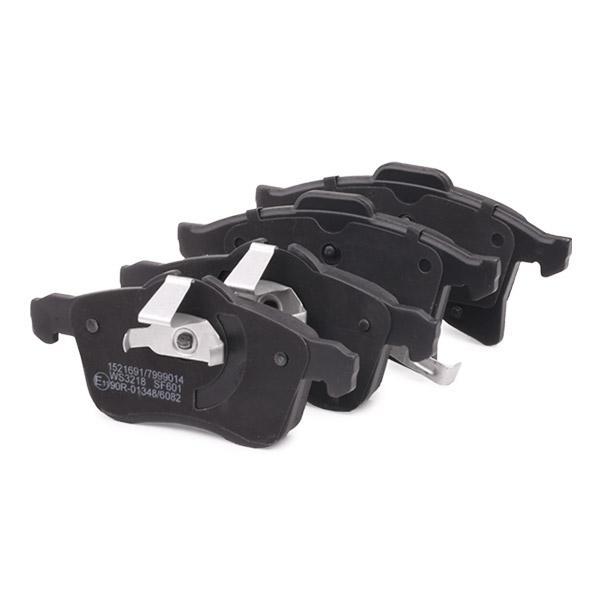 402B0007 Bremsbelagsatz RIDEX - Markenprodukte billig