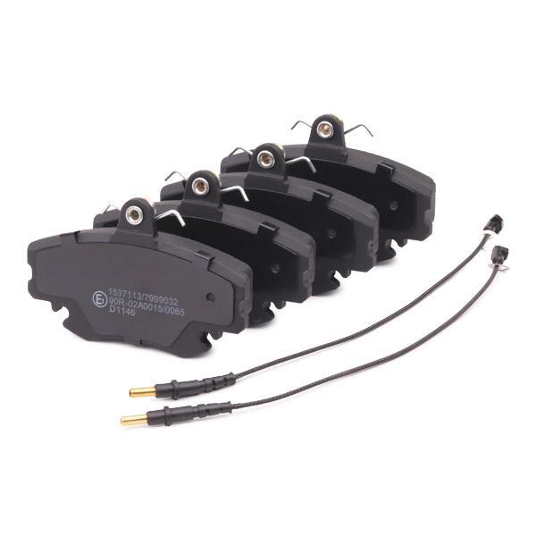 402B0036 Bremsklötze RIDEX Erfahrung