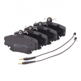 402B0036 Bremsbelagsatz, Scheibenbremse RIDEX - Markenprodukte billig