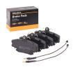 Bremsbelagsatz, Scheibenbremse 402B0036 Clio II Schrägheck (BB, CB) 1.6 Flex 110 PS Premium Autoteile-Angebot