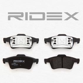 402B0145 Bremsbeläge RIDEX 402B0145 - Große Auswahl - stark reduziert