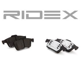 402B0145 Bremsbelagsatz, Scheibenbremse RIDEX - Markenprodukte billig
