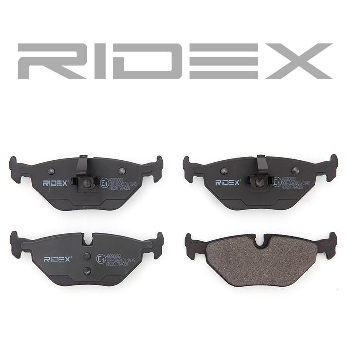 402B0088 Bremsbeläge RIDEX 402B0088 - Große Auswahl - stark reduziert
