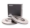 Disco de freno 82B0166 RIDEX — Solo piezas de recambio nuevas