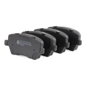 402B0062 Bremsbelagsatz, Scheibenbremse RIDEX - Markenprodukte billig