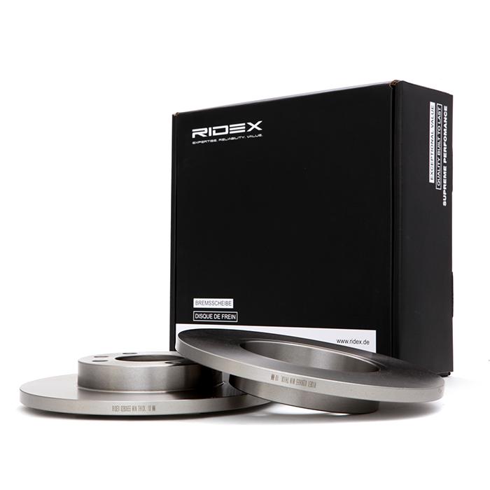 82B0655 RIDEX Bremsscheibe Bewertung