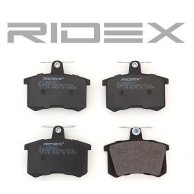402B0021 Bremsbeläge RIDEX 402B0021 - Große Auswahl - stark reduziert