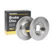 Discos de freno 82B0659 RIDEX — Solo piezas de recambio nuevas