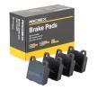 Komplet zavornih oblog, ploscne (kolutne) zavore 402B0082 z izjemnim razmerjem med RIDEX ceno in zmogljivostjo