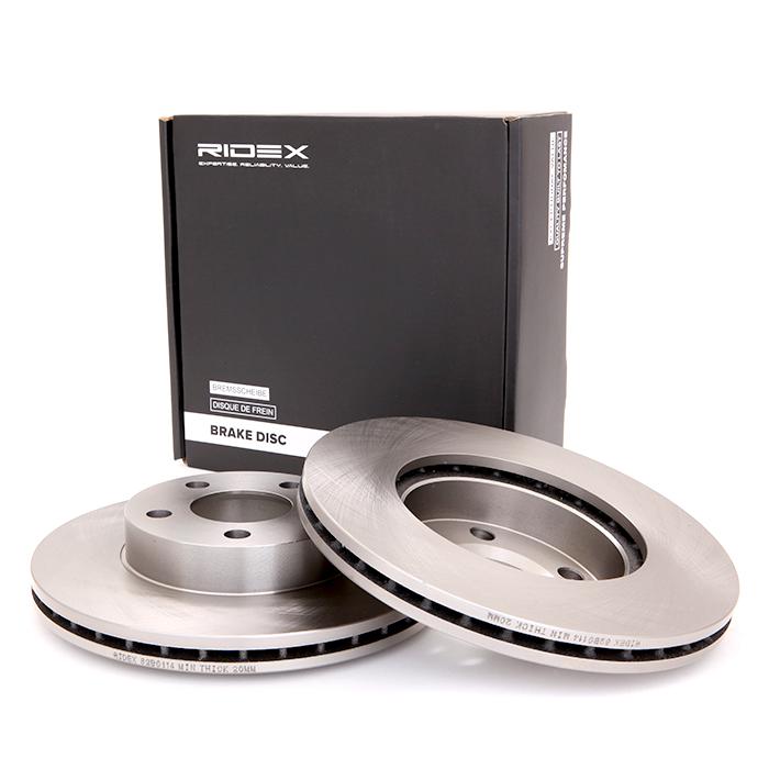 Car spare parts VW KOMBI 2021: Brake Disc RIDEX 82B0114 at a discount — buy now!
