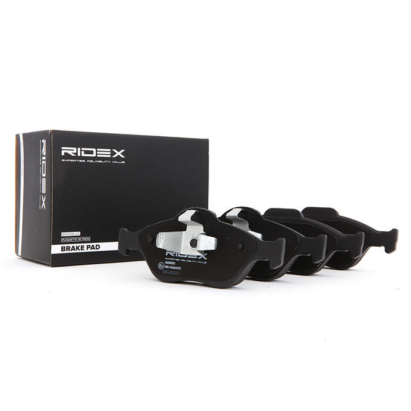 402B0023 RIDEX Bremsbelagsatz, Scheibenbremse Bewertung