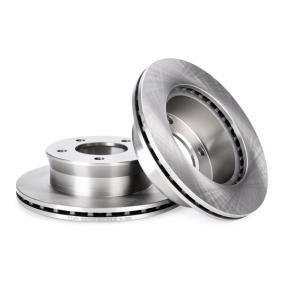82B0234 Bremžu diski RIDEX - Lēti zīmolu produkti