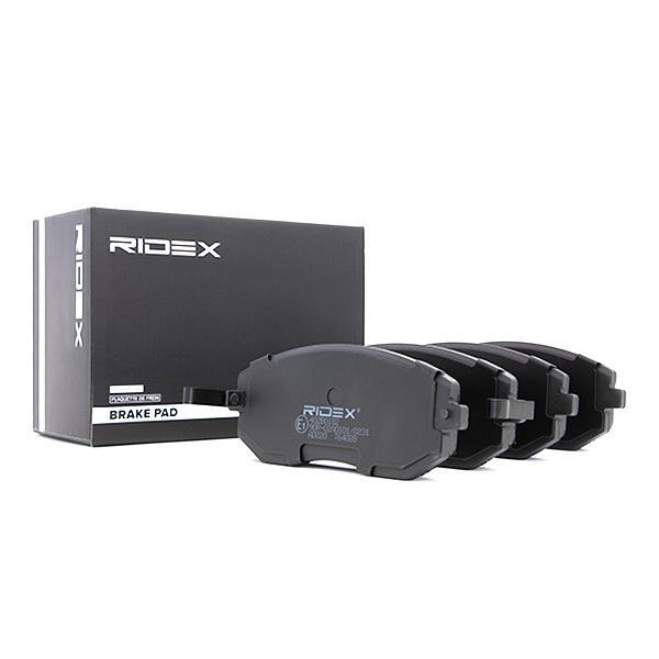 402B0182 Bremsbelagsatz RIDEX - Markenprodukte billig