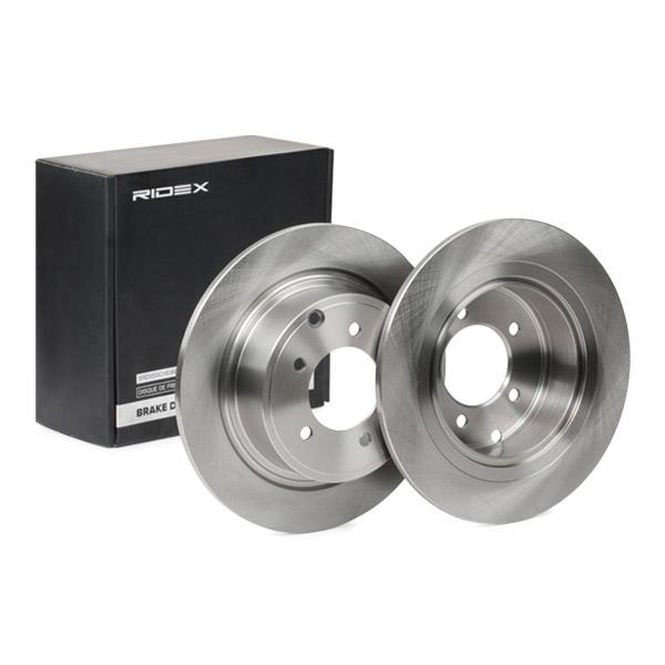 RIDEX: Original Scheibenbremsen 82B0640 (Ø: 302,3mm, Lochanzahl: 5, Bremsscheibendicke: 10mm)