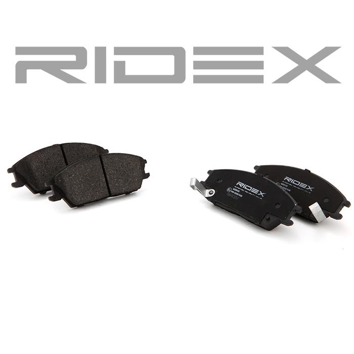 402B0132 Bremsbelagsatz RIDEX - Markenprodukte billig