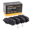 RIDEX 402B0090 Scheibenbremsbeläge Mercedes W168 A 160 CDI 1.7 (168.007) 1999 60 PS - Premium Autoteile-Angebot