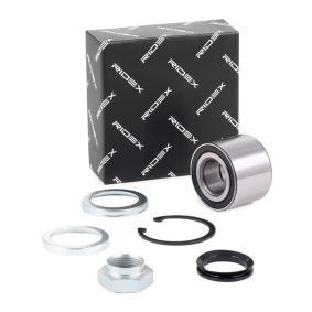 654W0035 RIDEX Hinterachse, links, rechts Ø: 52mm, Innendurchmesser: 25mm Radlagersatz 654W0035 günstig kaufen