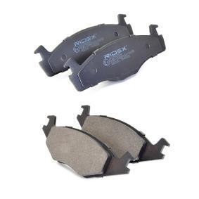402B0260 Bremsbelagsatz RIDEX - Markenprodukte billig