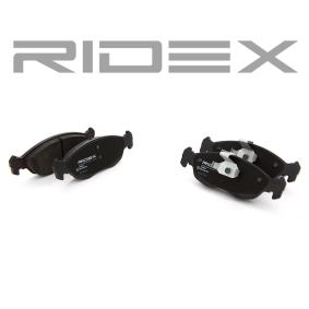 Scheibenbremse Ridex 402B0216 Bremsbelagsatz