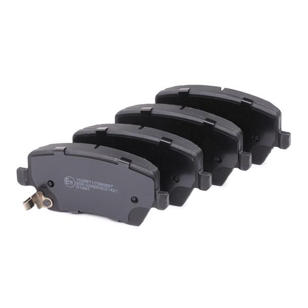 402B0234 Bremsbelagsatz RIDEX - Markenprodukte billig