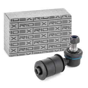 3229S0237 RIDEX framaxel, med tillbehör L: 80mm Länk, krängningshämmare 3229S0237 köp lågt pris