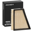 Luftfilter 8A0017 som är helt RIDEX otroligt kostnadseffektivt