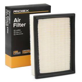 Pērc un aizvieto Gaisa filtrs RIDEX 8A0078