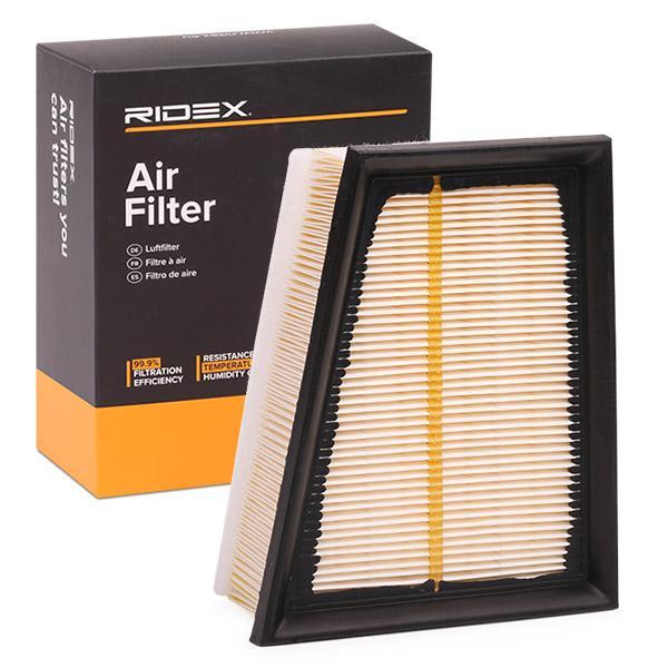 Buy original Air filter RIDEX 8A0080