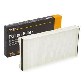 Kupte a vyměňte Filtr, vzduch v interiéru RIDEX 424I0043