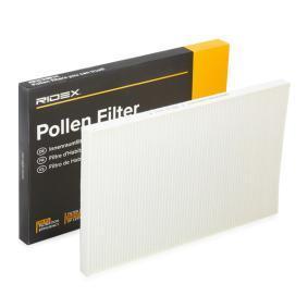 Kupte a vyměňte Filtr, vzduch v interiéru RIDEX 424I0130