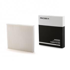 buy and replace Filter, interior air RIDEX 424I0180