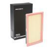 Luftfiltereinsatz 8A0120 mit vorteilhaften RIDEX Preis-Leistungs-Verhältnis
