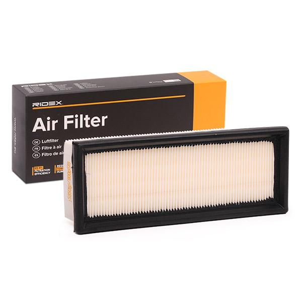 Zracni filter 8A0064 z izjemnim razmerjem med RIDEX ceno in zmogljivostjo
