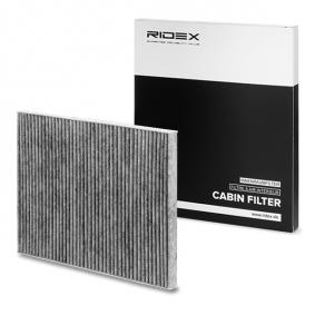 buy and replace Filter, interior air RIDEX 424I0213
