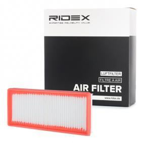buy and replace Air Filter RIDEX 8A0186