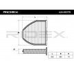 RIDEX Filtr, wentylacja przestrzeni pasażerskiej 424I0070 kupować online całodobowo
