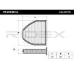 Kupeluftfilter 424I0070 RIDEX — bara nya delar