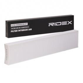 Filtru, aer habitaclu RIDEX 424I0016 cumpărați și înlocuiți