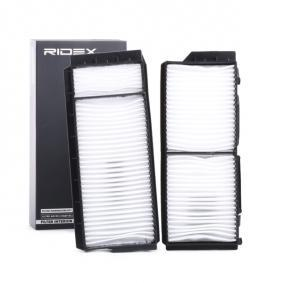 buy and replace Filter, interior air RIDEX 424I0066