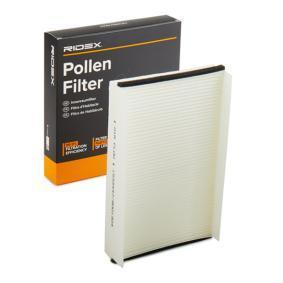 Pērc un aizvieto Filtrs, Salona telpas gaiss RIDEX 424I0075