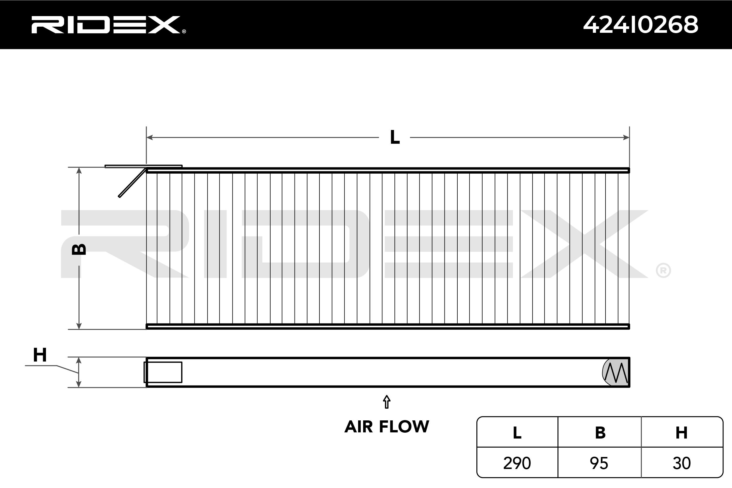Original Filter Innenraumluft 424I0268 Opel