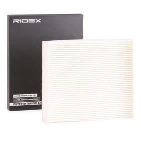 Comprar y reemplazar Filtro, aire habitáculo RIDEX 424I0094