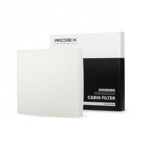 buy and replace Filter, interior air RIDEX 424I0240