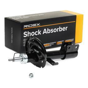 854S0570 RIDEX Gasdruck, Zweirohr, Federbein Stoßdämpfer 854S0570 günstig kaufen